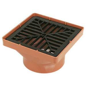 "Sewer Square Hopper 4"" X 6"" 0076501"