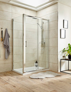 1200 X 1850 Sliding Shower Door 6mm
