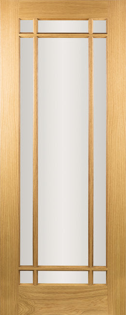 Seadec-Oak-Oak-Arizona-Clear-9-Panel-Door