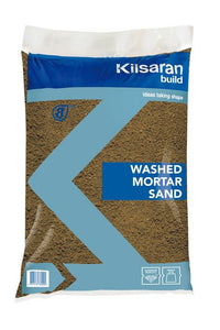 Kilsaran Washed Mortar Sand Standard Bag