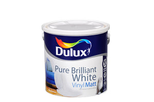 Dulux Vinyl Matt Pure Brilliant White  2.5L