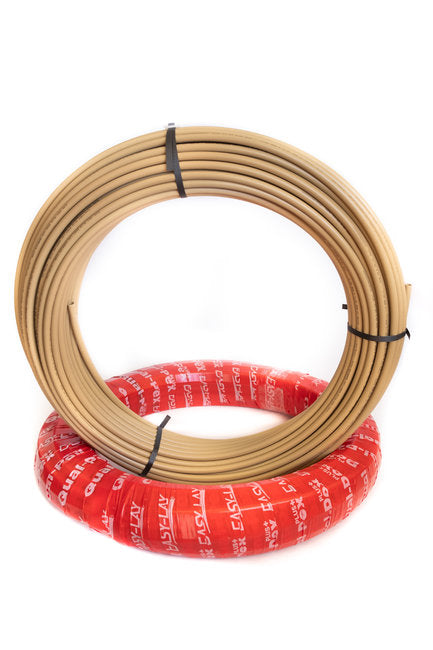 Qual-PEX Plus+ EasyLay 50m x 3/4 Tan Coil