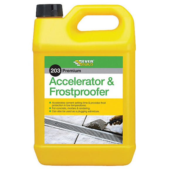 Everbuild 5Ltr Accelerator and Frostproofer
