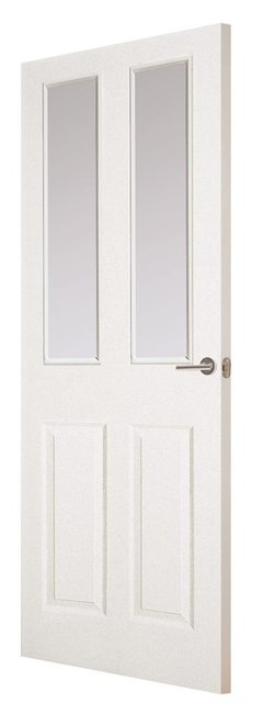 Indoors Shannon Moulded Glazed Smooth Door 80 X 32 X 44Mm