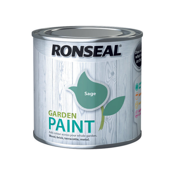 Ronseal Garden Paint - Colours 250ml