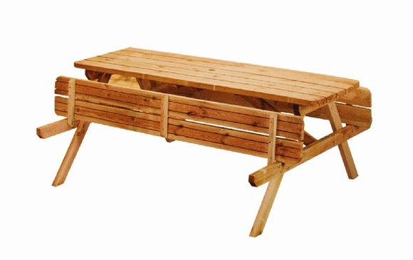 Pine Folding Picnic Table