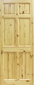 Seadec Red Pine Westport 6 Panel Door
