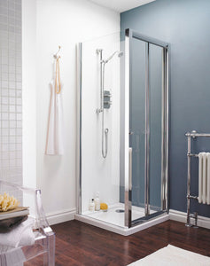 800 X 1850mm Bi-Fold Shower Door 6mm
