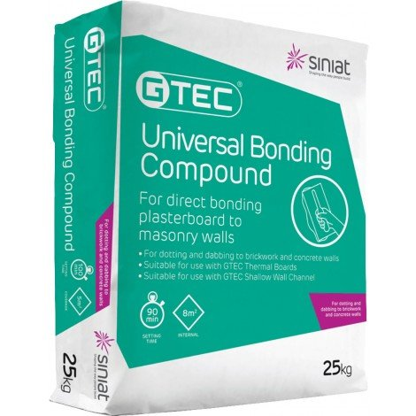 Siniat GTEC Bonding Compound 25Kg Bag