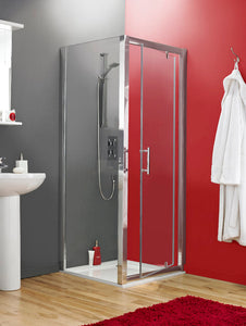 900 X 1850mm Pivot Shower Door 6mm