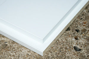 15mm Edged Panels White 2440 X 305mm  12""