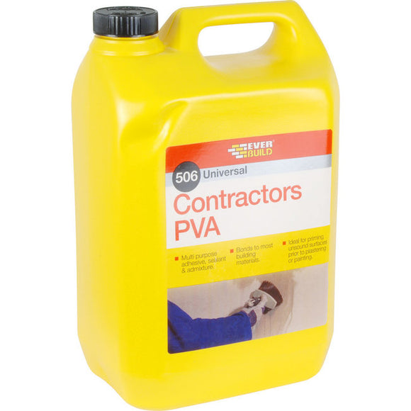 Everbuild Contractors PVA 5ltr
