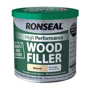 Ronseal High Performance Wood Filler 550g Natural