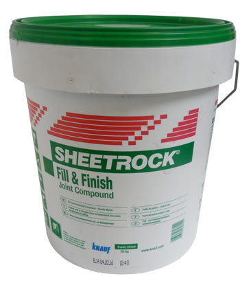 Sheetrock Fill & Finish Joint Compound 20Kg