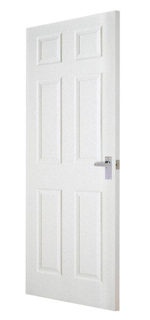 Indoors Carrick 6P Smooth Fd30 Fire Door 80X32X44Mm
