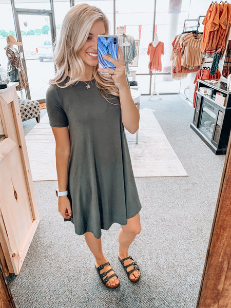 Z Where Everywhere TShirt Dress
