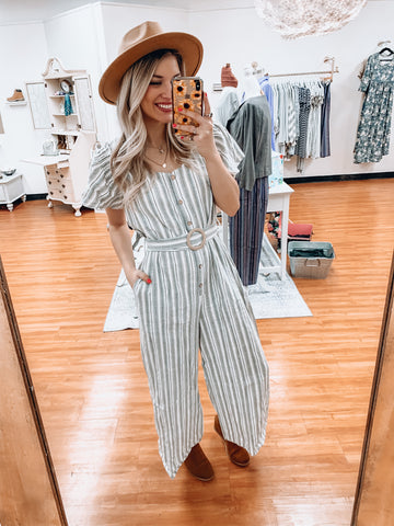 Stripes and Sass Jumpsuit