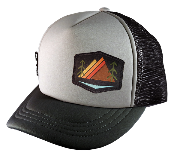 Gray Black Trucker 58 Alpenglow