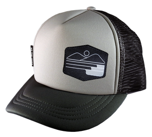 Gray Black Trucker 58 Surf Set