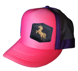 Magenta Purple Choice AF Trucker 57 cm Golden Unicorn