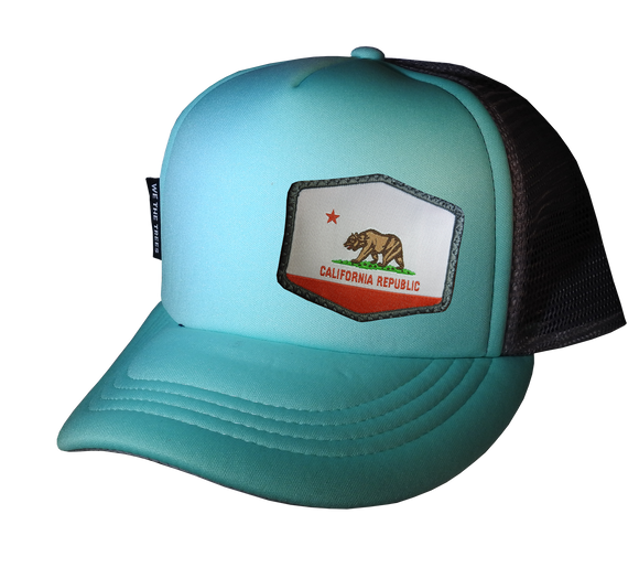 Mint Gray Trucker hat 58 cm Large Cali