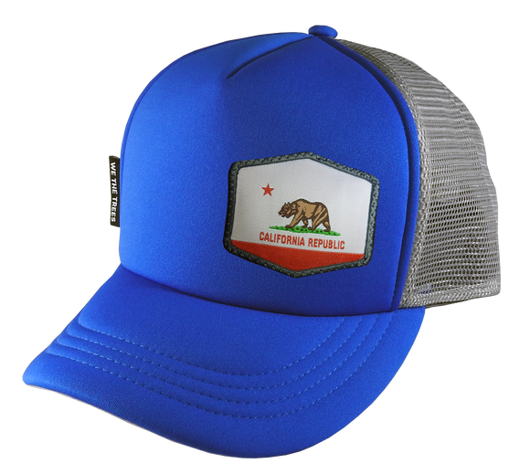 Royal Blue Trucker Hat 54 cm Small