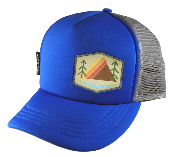 Royal Gray Trucker Hat 54 cm Small Khaki Alpenglow