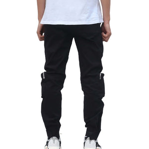 COMBAT TROUSERS IN BLACK