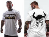 VIKING GYM T-SHIRT IN WHITE