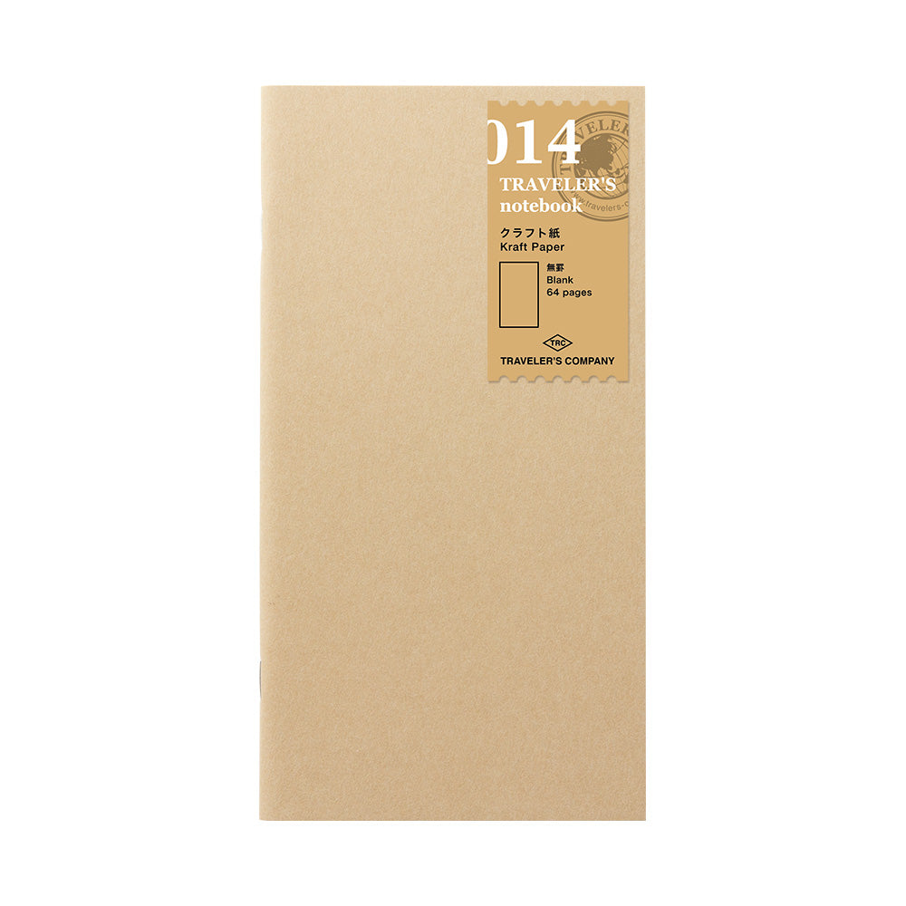 TRAVELER'S notebook - Refill - Kraft Paper Notebook - Penosaur
