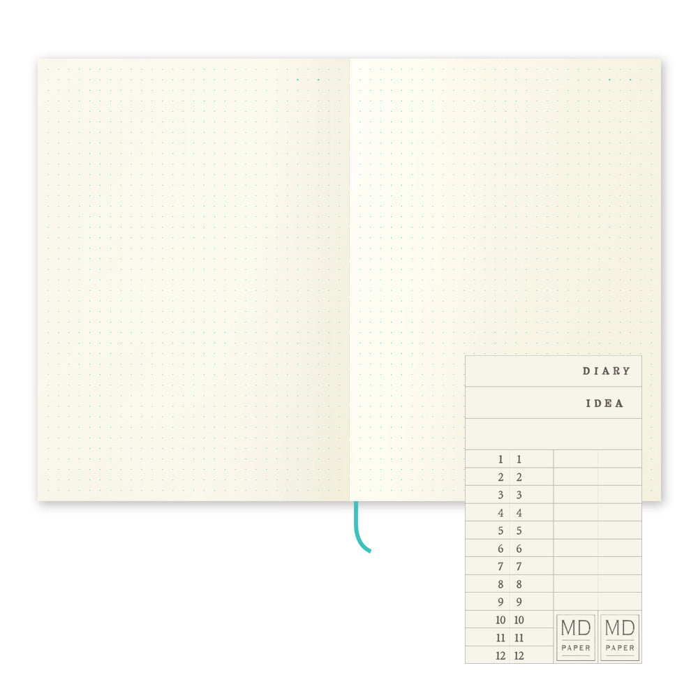 MD Notebook Journal - A5 - Dot Grid