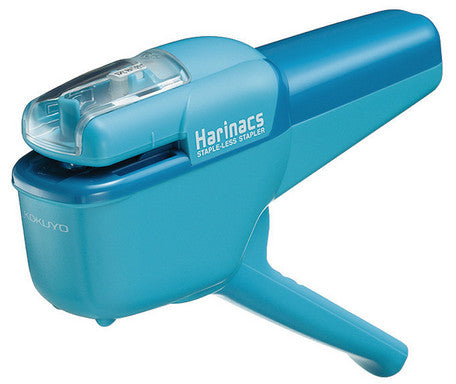 KOKUYO Harinacs Stapleless Stapler - BLUE - Penosaur
