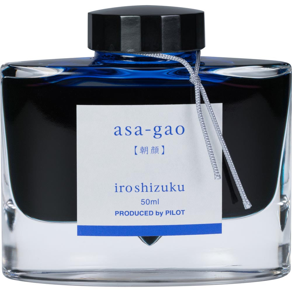 Pilot Iroshizuku Ink - Asa-gao (Morning Glory) - Navy Blue - 50mL Bottle