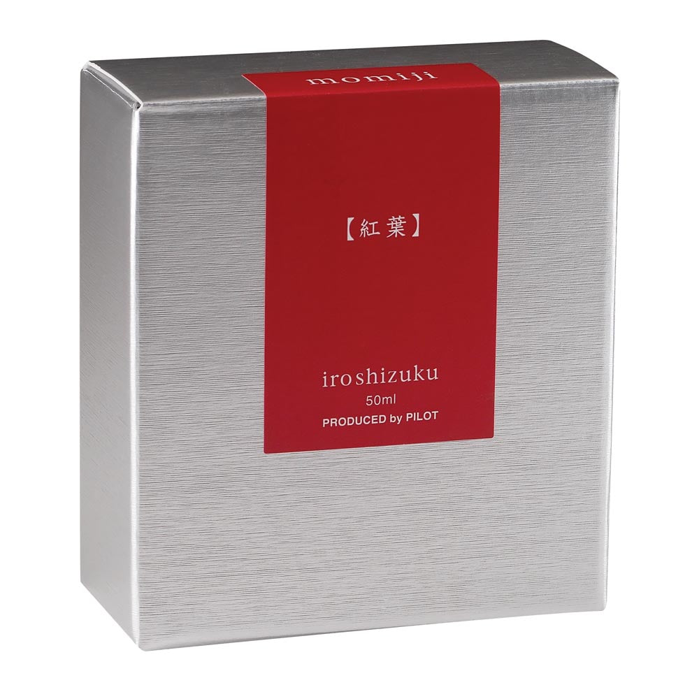 Pilot Iroshizuku Ink - Momiji (Autumn Leaves) - Red - 50mL Bottle