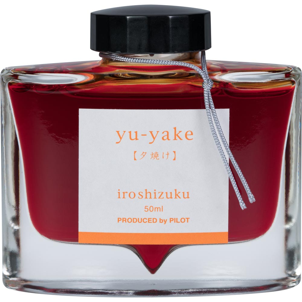 Pilot Iroshizuku Ink - Yu-yake (Sunset) - Orange - 50mL Bottle