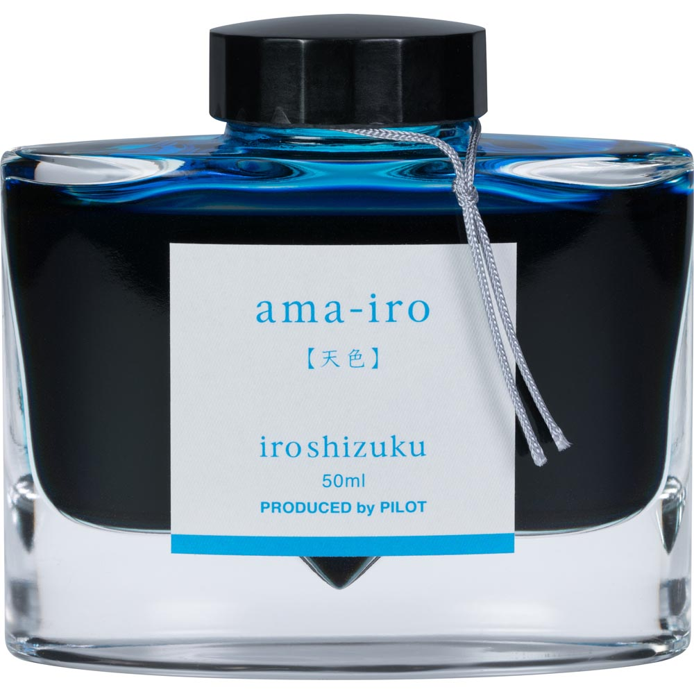 Pilot Iroshizuku Ink - Ama-iro (Sky Blue) - Light Blue - 50mL Bottle
