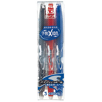 Pilot FriXion Erasable Gel Pen - 0.5 mm - 3 Color Set - Penosaur
