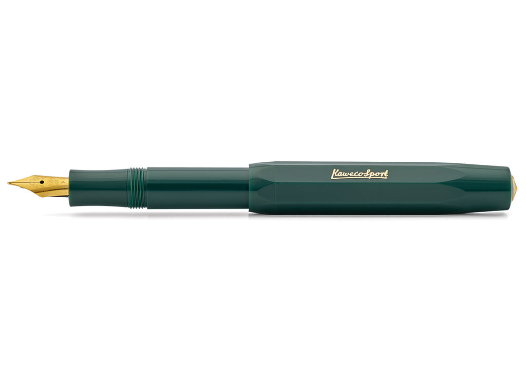 Kaweco Classic Sport Fountain Pen - Green - Fine Nib