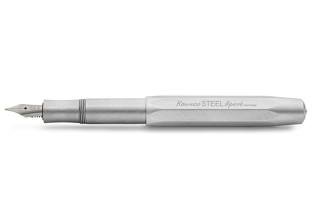 Kaweco STEEL Sport Fountain Pen - Medium Nib