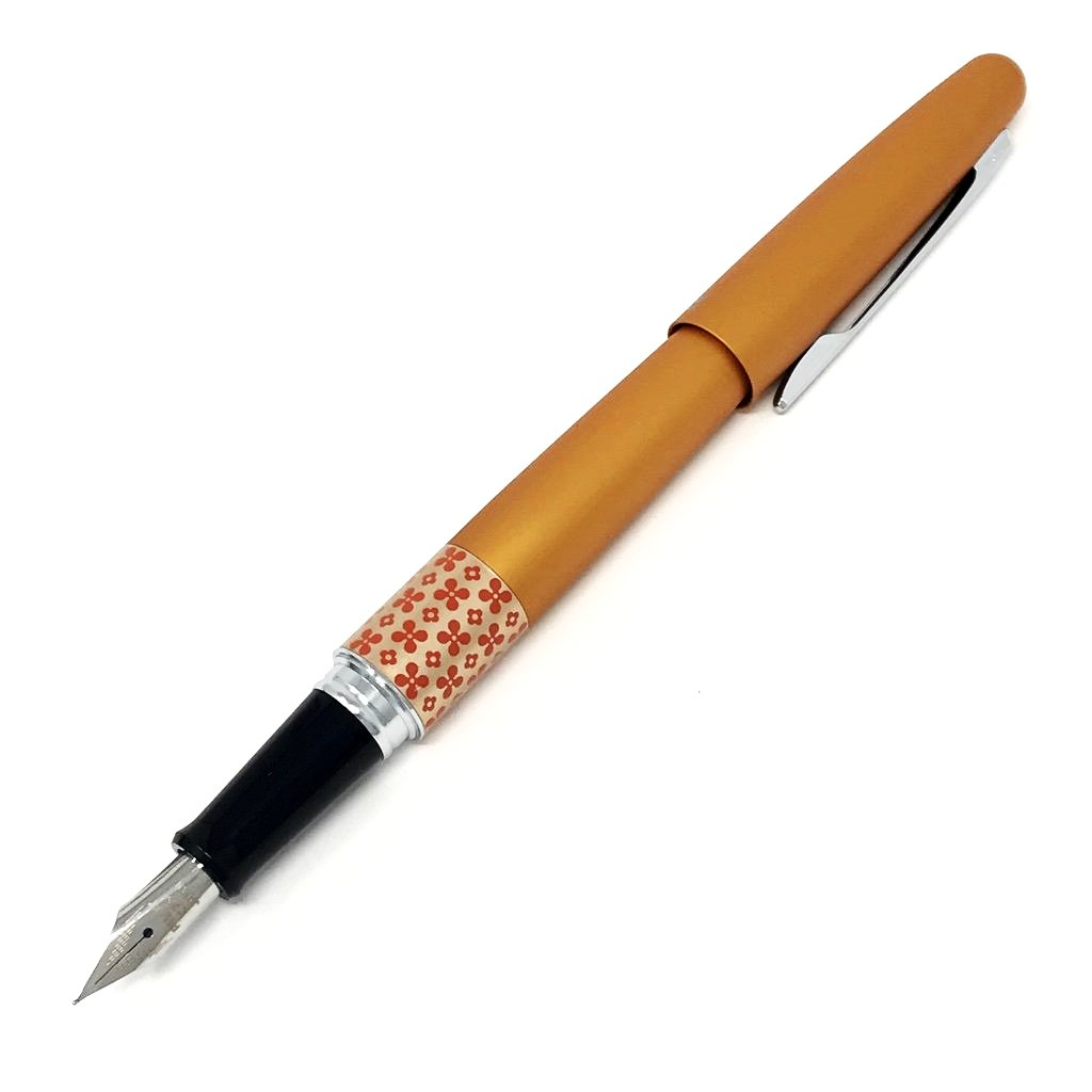 Pilot Metropolitan Fountain Pen - Retro Pop Orange- Fine Nib - Penosaur