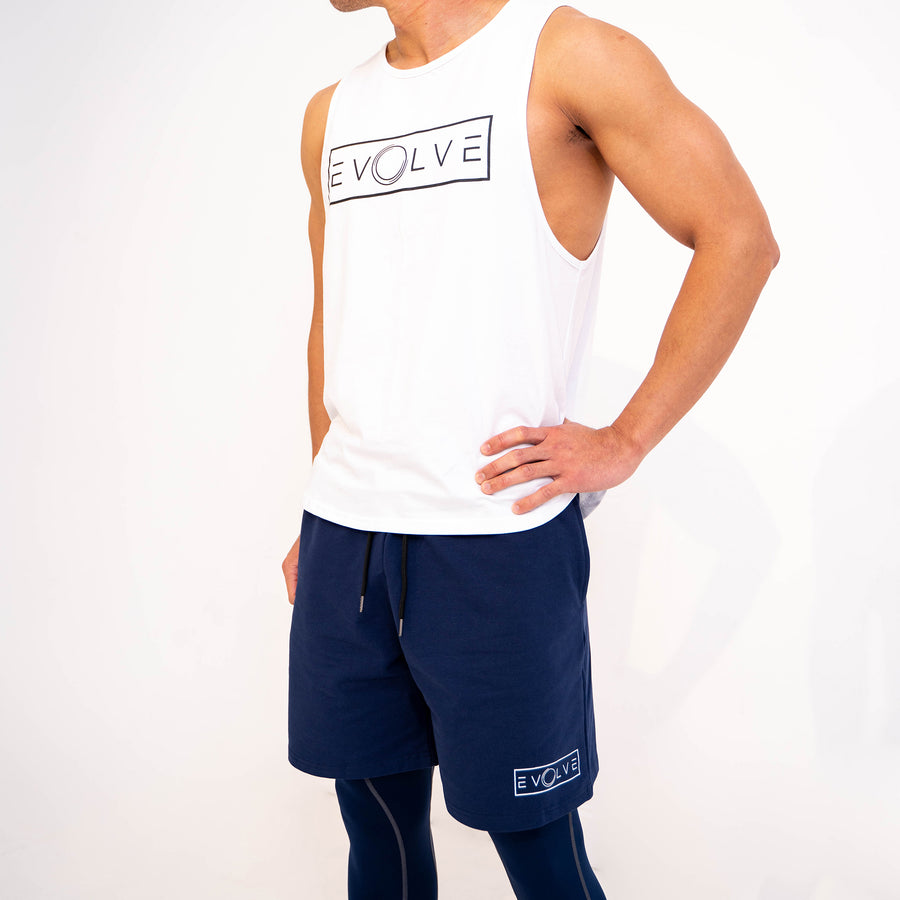 Velocity Shorts - Navy Blue - EVOLVE FASHION