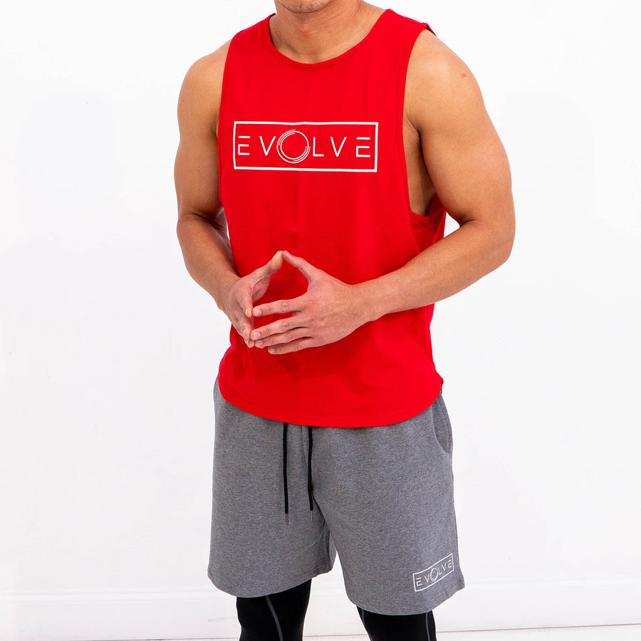 Velocity Tank - Red - EVOLVE FASHION