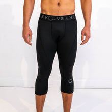 Evolve 3/4 Compression Leggings - Black