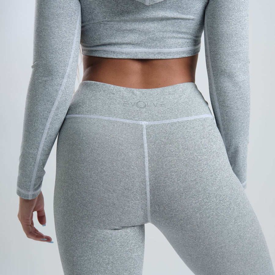 Evolve Sport Leggings (Marble Grey) - EVOLVE FASHION