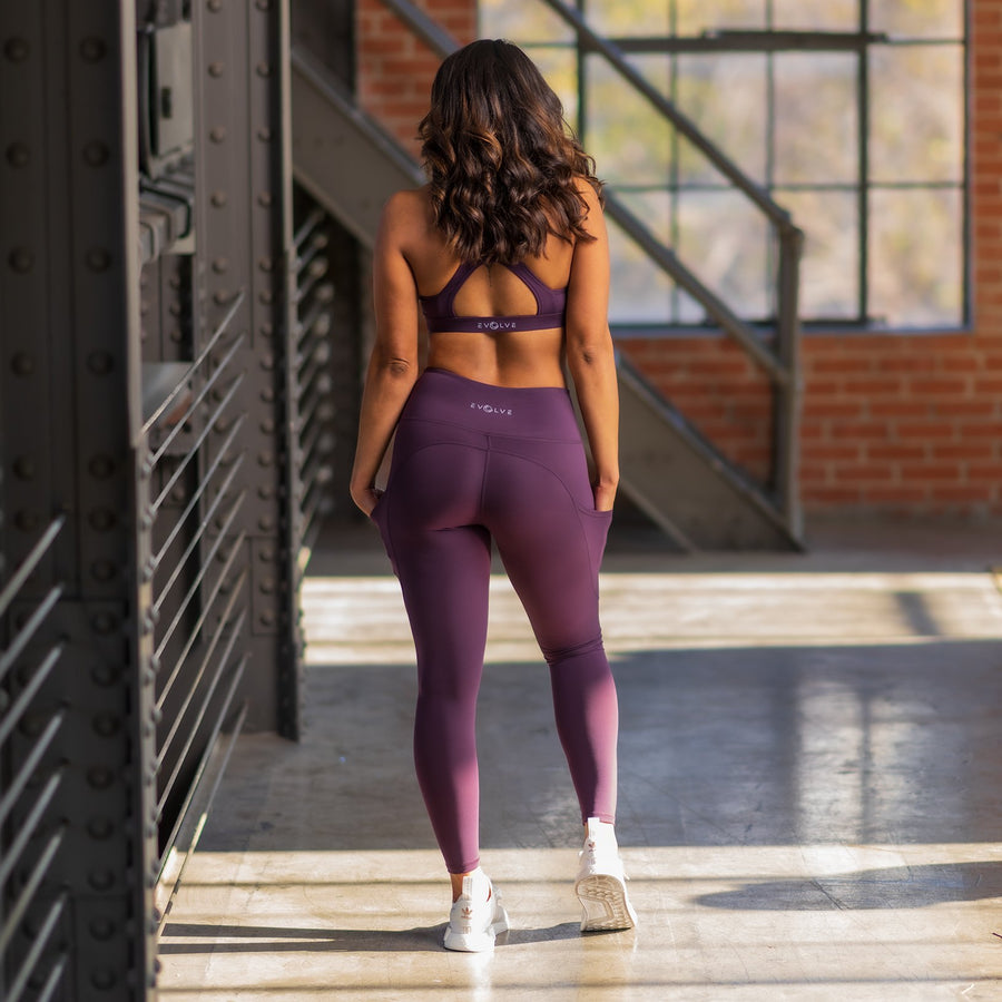 Princess Leggings - Purple - EVOLVE FASHION