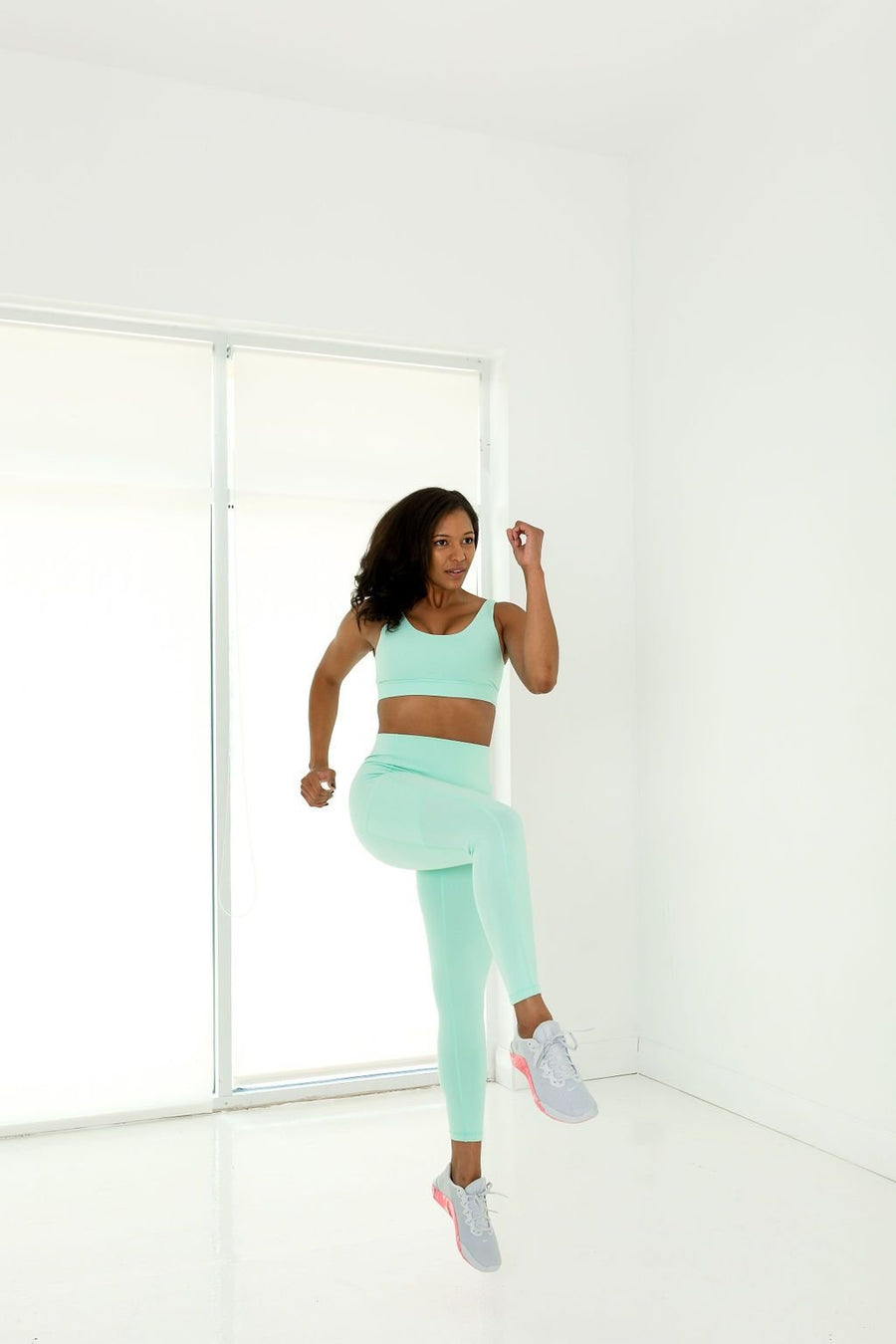 Princess Sports Bra (Mint Green) - EVOLVE FASHION