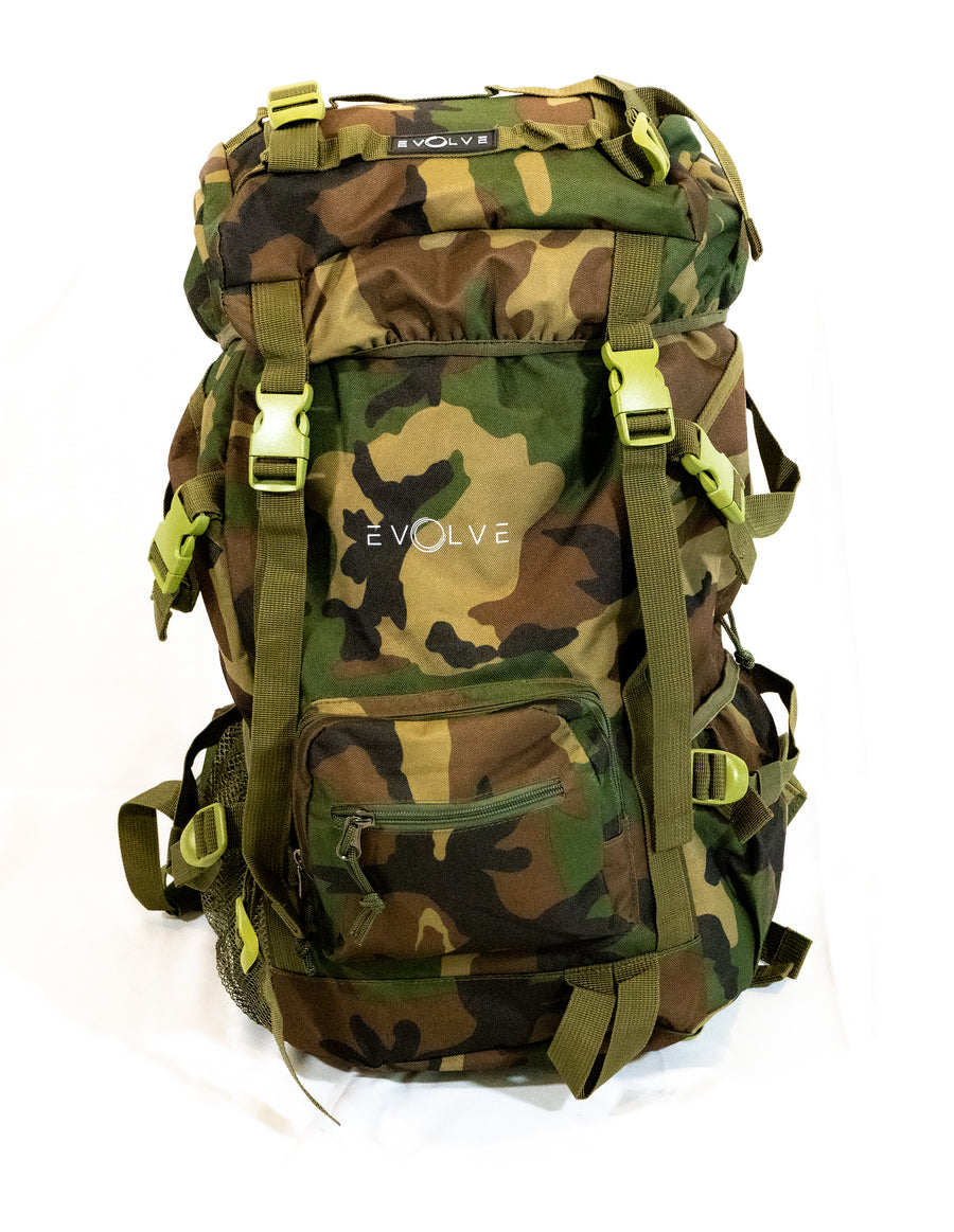 Evolve Tactical Backpack (Camo) - EVOLVE FASHION