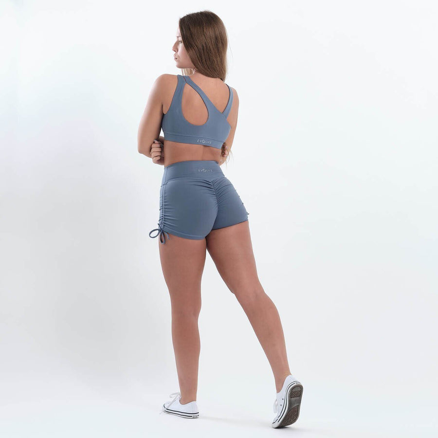 Rebel Shorts (Light Blue) - EVOLVE FASHION