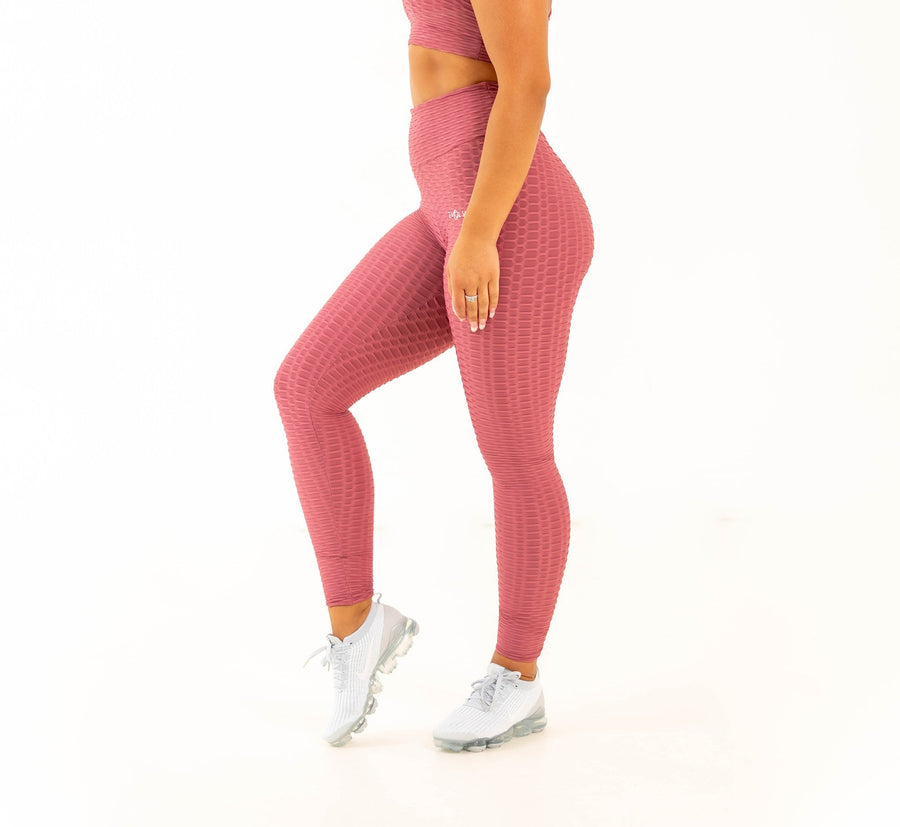 Rio Leggings - Dusty Rose - EVOLVE FASHION