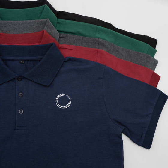 Velocity Polo Shirt- Dark Blue - EVOLVE FASHION